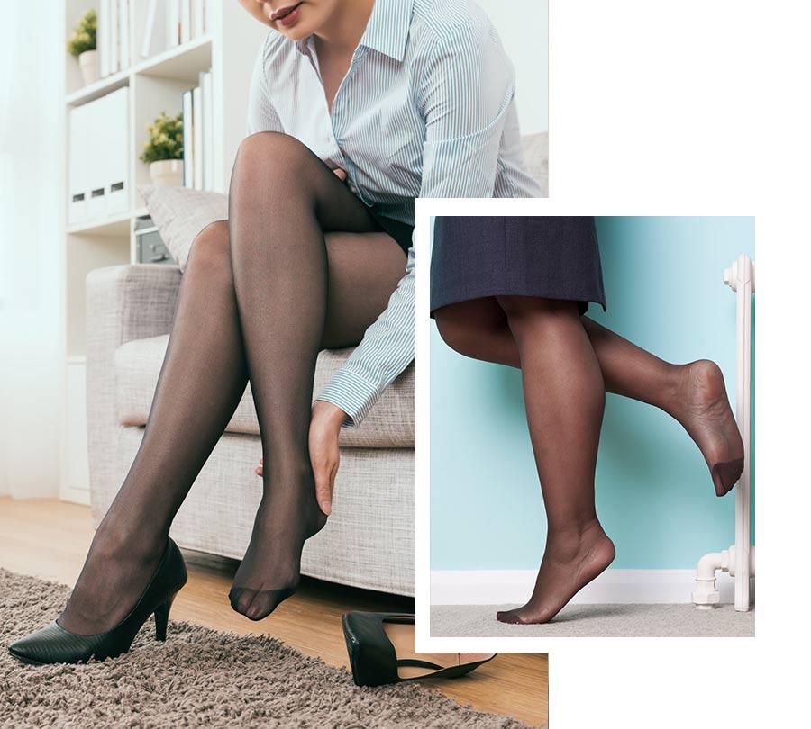 Masažo nog in stopal lahko izvajamo kjerkoli in večkrat dnevno.