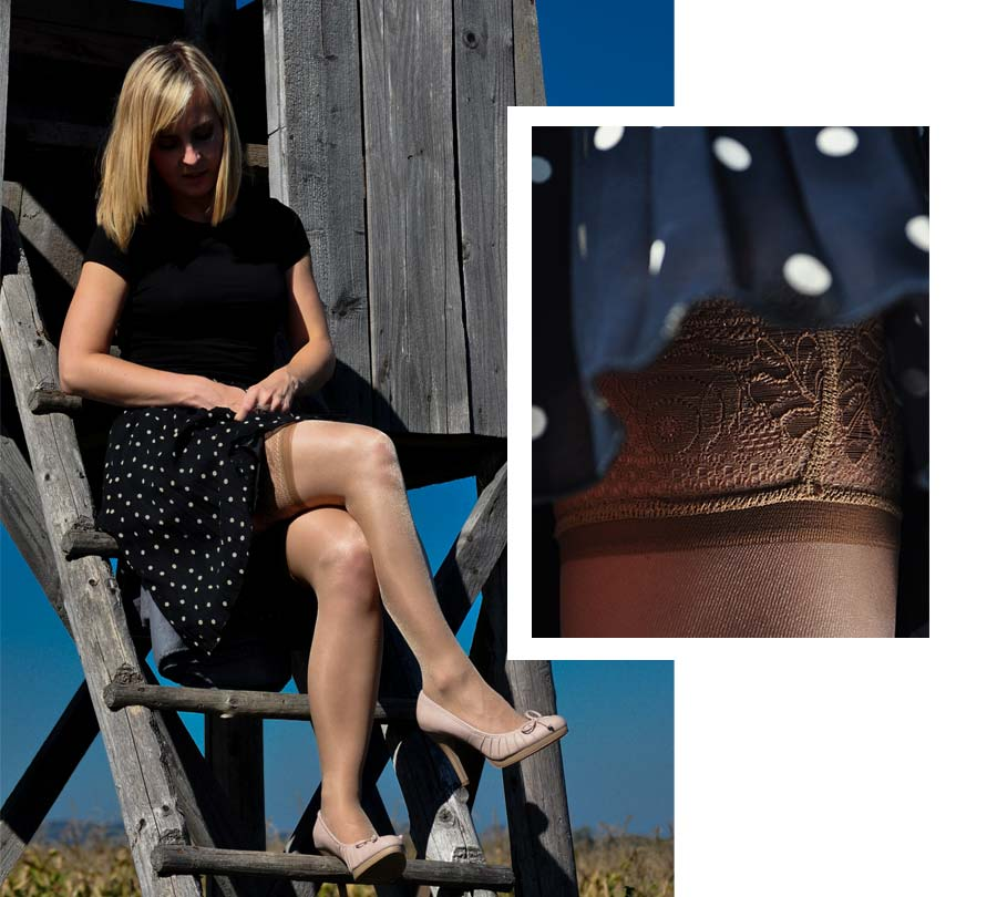 Nogavice so spomladi praviloma svetlejših barv.